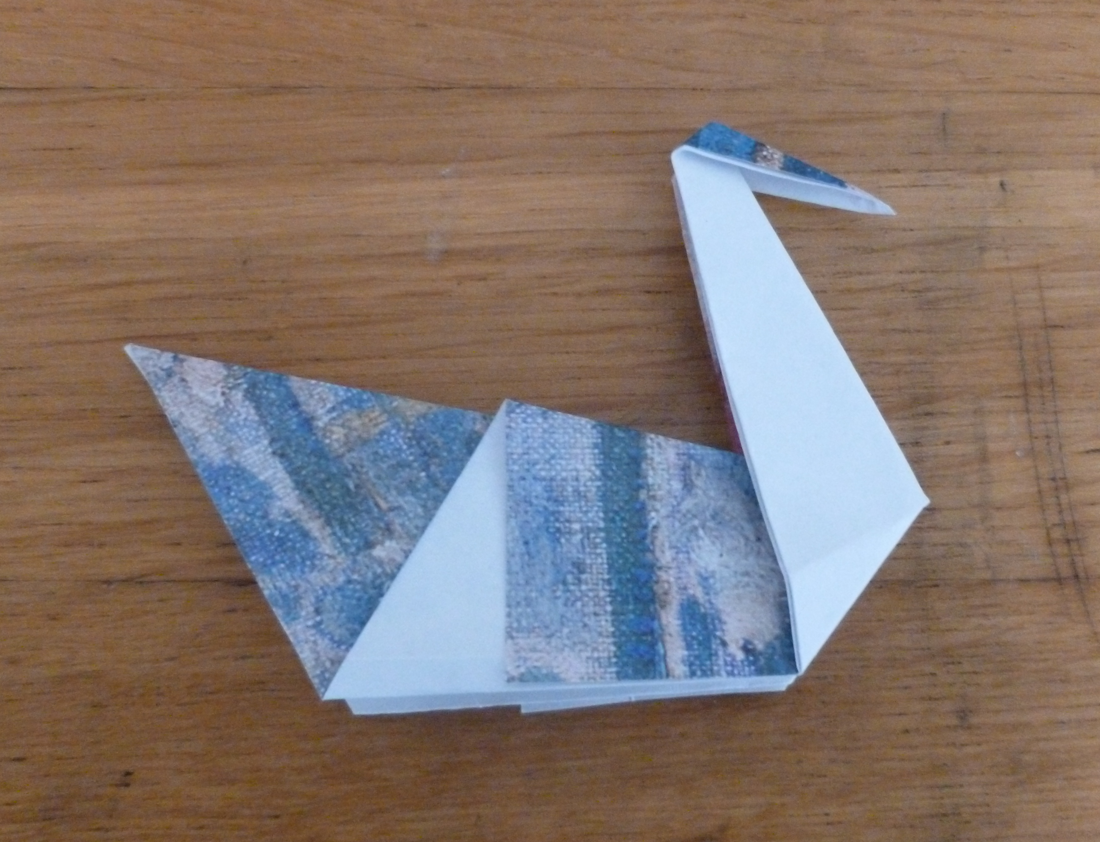 how to make origami swan - DriverLayer Search Engine - photo#32