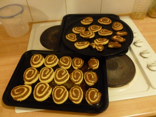 Swirled Biscuits