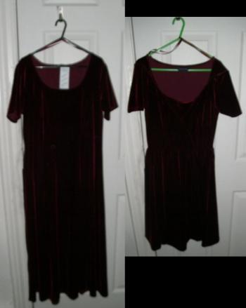 velvet dress77