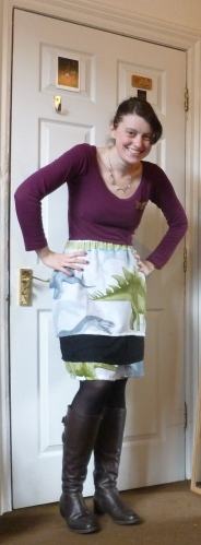 Dinosaur Tier Skirt