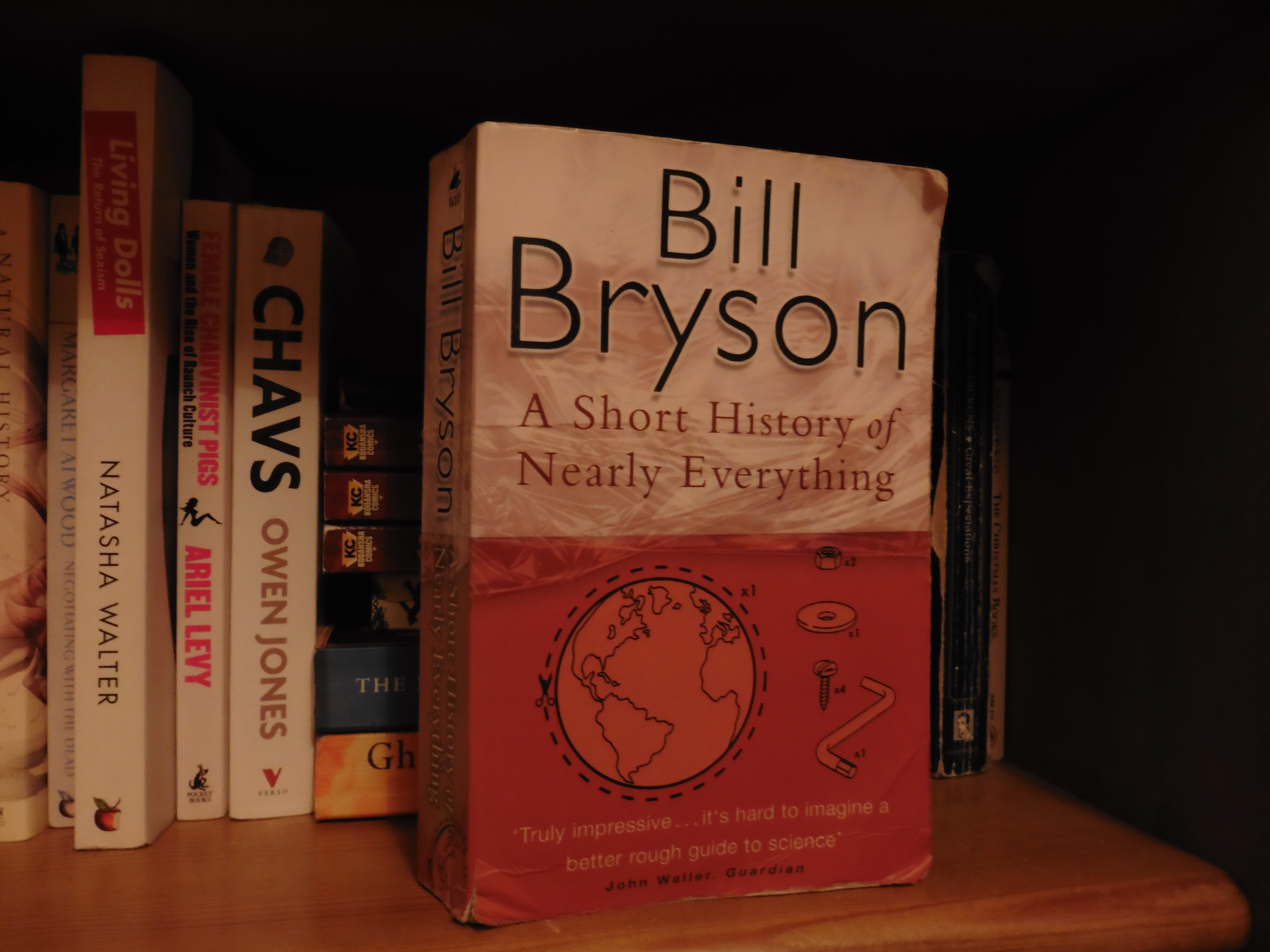 A Short History Of Nearly Everything This Book Is Over 10yrs Old Now But I Finally Got Around To Reading Although When Picked It Out Didnt Actually